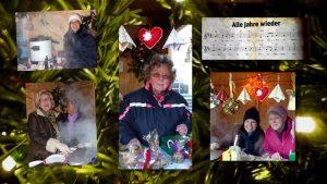 Glögg, Waffeln und gaaanz gute Laune, unsere fleißigen Helferinnen in Aktion (Fotos: Felizitas Frenzel)