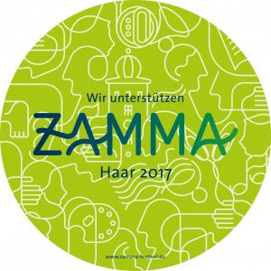 Wir unterstützen ZAMMA - Haar 2017